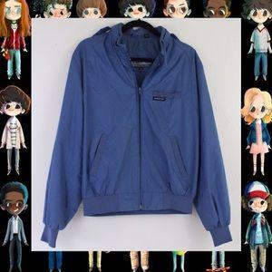 Vintage 80s Members Only Medium Blue Jacket 40 Men